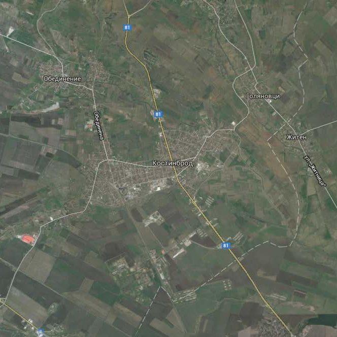 Планиране на извънградски територии – проект