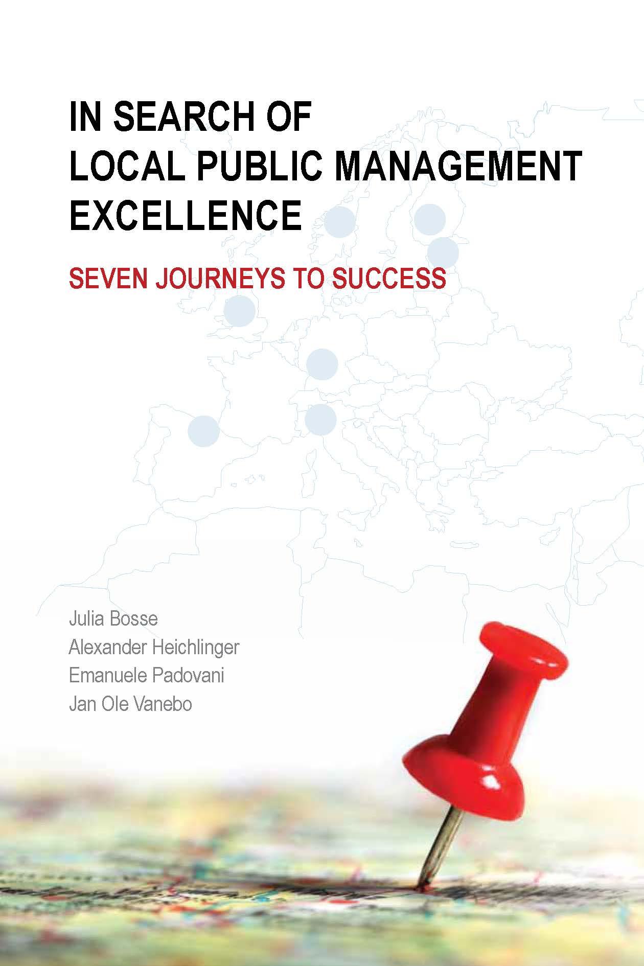 В търсене на високи постижения в мениджмънта на местно ниво (корица)