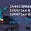 Canoe Sprint European & Paracanoe European Championships 2017